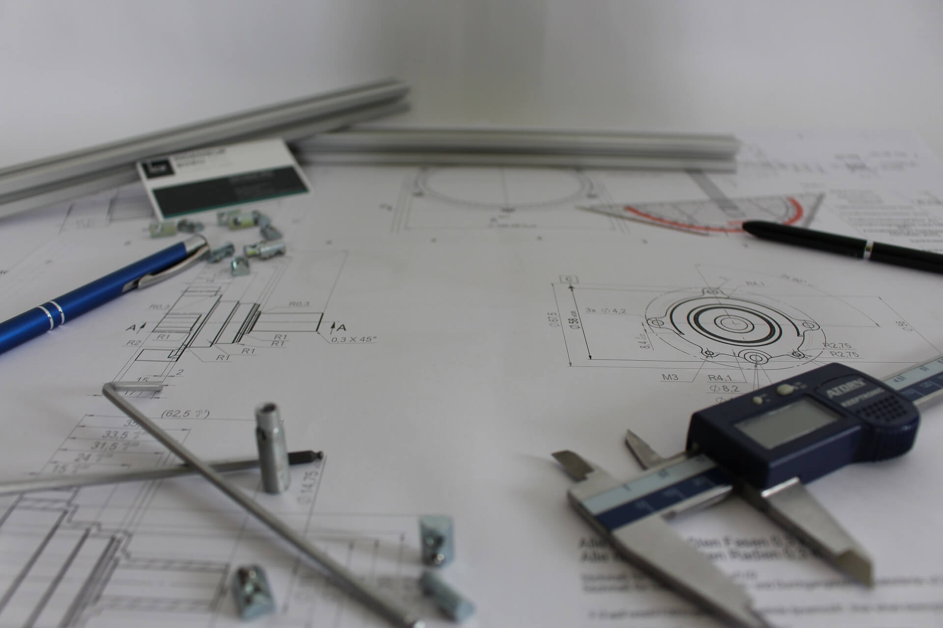 Engineer Drawings and Tools