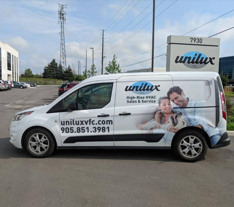 Unilux VFC Vertical Fan Coil Service Van