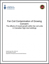 UofT Fan Coil Contamination Study 3