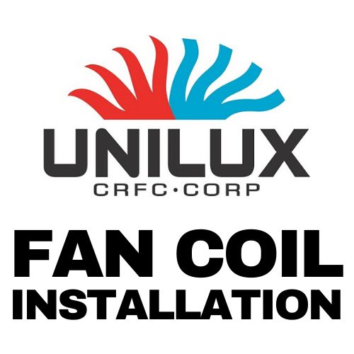 unilux crfc FAN COIL Installation