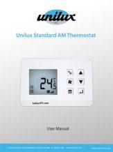 Unilux Standard AM Thermostat Manual
